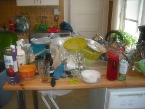 L'état de notre cuisine