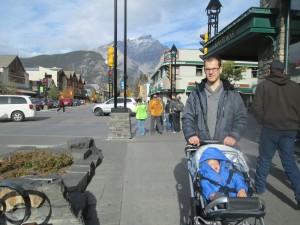 Repos du guerrier dans la ville de Banff