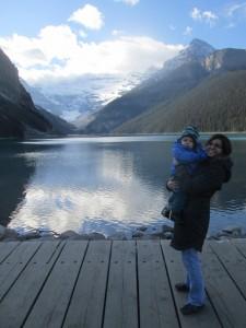 Lac Louise à l'automne