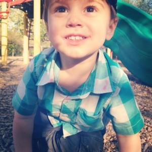 Laurent au parc
