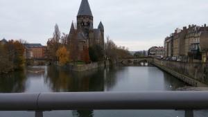 Paysage tout près de l'université de Metz