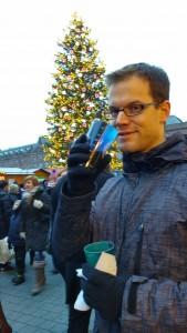 Simon et le fameux vin chaud